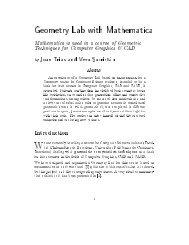 View - Departament de Matemàtica Aplicada II - UPC