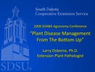 """Plant Disease Management From The Bottom Up"""