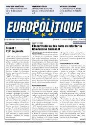 L'incertitude sur les noms va retarder la Commission ... - Europolitique