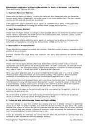 Householder Application for Planning Permission ... - Planning Portal