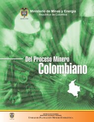 Del Proceso Minero Colombiano. - Unidad de Planeación Minero ...