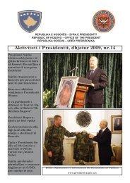 Aktivitetet e Presidentit, nr 14 - Kosovo President