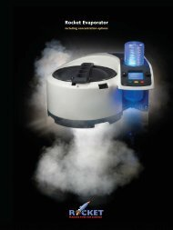 Rocket Evaporator - Mason Technology