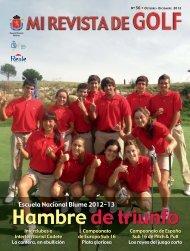 Hambre de triunfo Hambre de triunfo - Real Federación Española ...