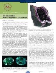 International Mineralogical Association - Elements