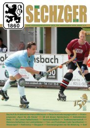Die Sechzger - TSV 1860 München eV