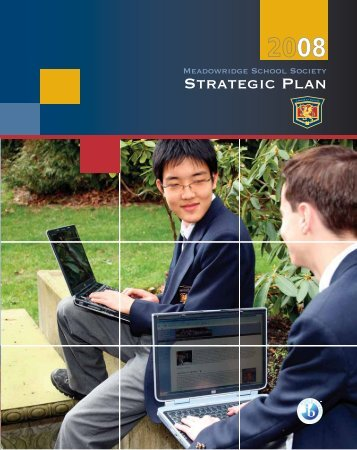 Strategic Plan 2008 - Meadowridge School