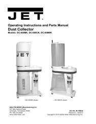 Dust Collector - JET Tools