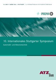 10. Internationales Stuttgarter Symposium - ATZlive