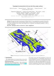 Topological reconstruction of oil reservoirs from seismic ... - PUC-Rio