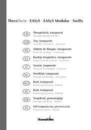 Playtray Instructions(Jazz Size 1 & Size 2) - Tendercare Ltd