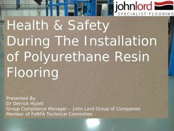 John Lord - Flooring Lindum Presentation (PDF)