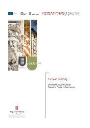 Rapporto Finale di Esecuzione - POR FESR - Regione Umbria