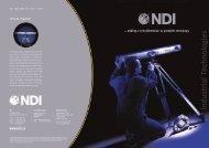 Optical Tracker NDI - Industrial Technologies