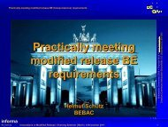 (bioequivalence) requirements - BEBAC • Consultancy Services for ...