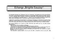 "Échange ""Brigitte Sauzay""* - Lycée Maurice Ravel"