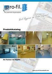 Ihr Partner im Objekt Produktkatalog - pro-fil kunststoff GmbH
