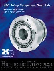 HDT T-Cup Component Gear Sets - Harmonic Drive LLC
