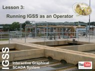 Lesson 3: Running IGSS as an Operator
