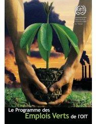 Emplois Verts de l'OIT - UN CC:Learn