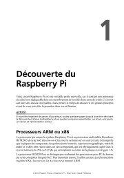 Découverte pratique du Raspberry Pi - Pearson