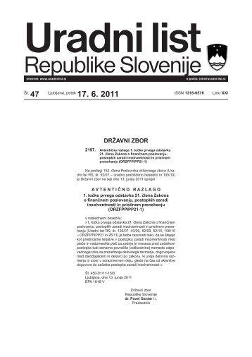 Uradni list RS - 047/2011, Uredbeni del - Občina IG