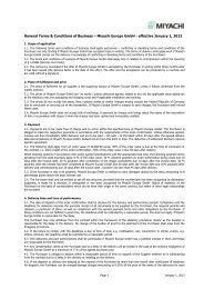 General Terms & Conditions of Business – Miyachi Europe GmbH ...