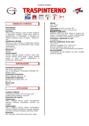 TRASPINTERNO - Bindifortedeimarmi.com