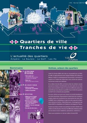 Journal Oullins n°9 - Ville d'Oullins