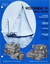 V - Westerbeke