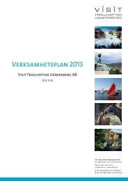 Verksamhetsplan 2013 - Västsverige