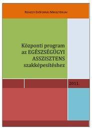 19635-3/2011/EAHUF közleményben kiadott központi program (.PDF)