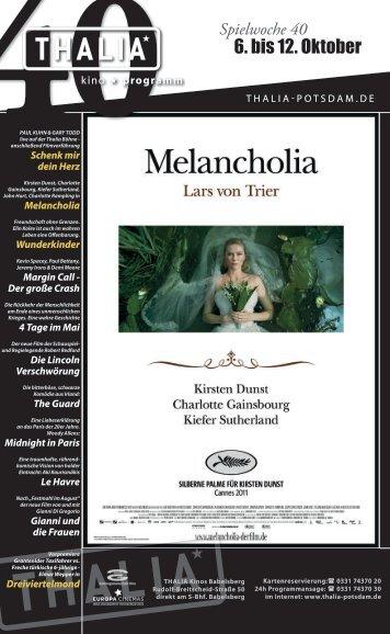 6. bis 12. Oktober - Thalia Kino