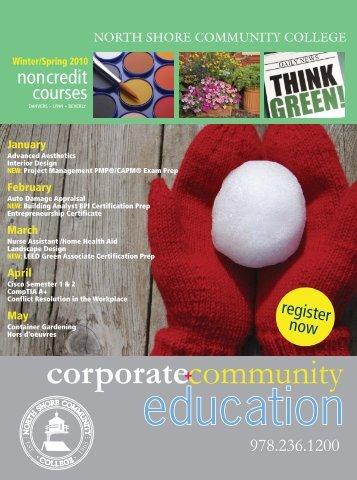 spring garden series - Community Education - North Shore ...