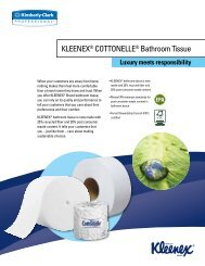 Luxury meets responsibility - Kimberly-Clark Professional