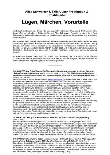Lügen, Märchen, Vorurteile - Dona Carmen e.V.