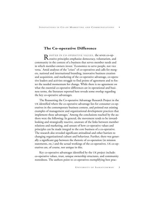 PDF format - Centre for the Study of Co-operatives