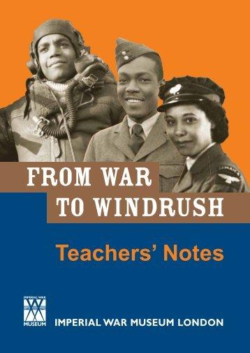 Teachers' Notes - Imperial War Museum