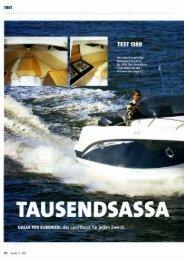 Galia 700 Sundeck - Test Boote 4-2013