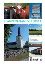 PLANPROGRAM FÖR IRSTA - Västerås stad