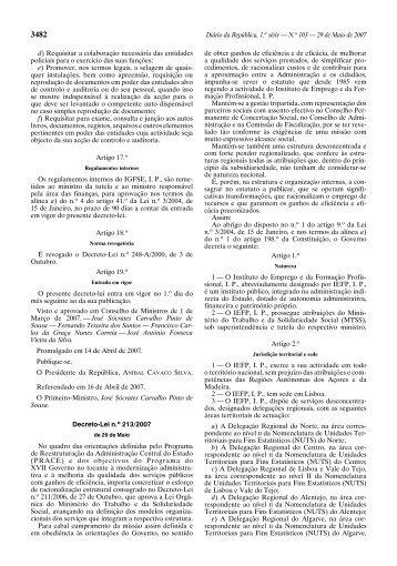 Diário da República, 1.a série — N.o 103 — 29 ... - Portal do Cidadão