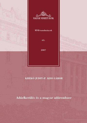 3. Adóelkerülés és a magyar adórendszer