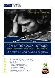 PSYKIATRISKOLEN I STRUER - Struer kommune