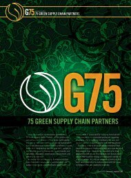 Inbound Logistics | G75: Green Supply Chain Partners | Digital Edition