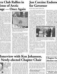 April - June 2005 - Sierra Club