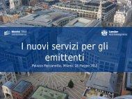 i servizi di Monte Titoli perv obbligazioni italiane emesse sul ...