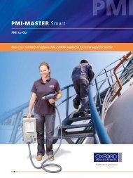 PMI-MASTER Smart Broschüre - Oxford Instruments