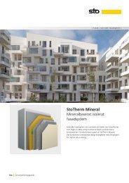 StoTherm Mineral - Sto Scandinavia AB