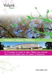 Plaquette - Associations - Valpré Lyon