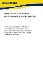 Vermieten an Unternehmer - Akademische Arbeitsgemeinschaft ...